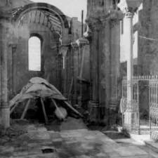 Detalle 2 excavaciones Catedral de Cartagena - Pedro A. San Martín Moro 1958
