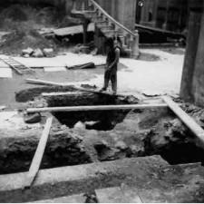 Detalle 3 excavaciones Catedral de Cartagena - Pedro A. San Martín Moro 1958