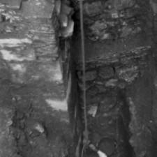 Detalle 4 excavaciones Catedral de Cartagena - Pedro A. San Martín Moro 1958