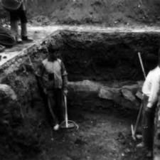 Detalle 6 excavaciones Catedral de Cartagena - Pedro A. San Martín Moro 1958