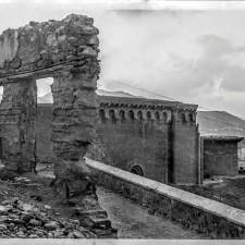 Detalle acceso y frontal de la Catedral de Cartagena