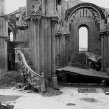 Detalle 1 excavaciones Catedral de Cartagena - Pedro A. San Martín Moro 1958